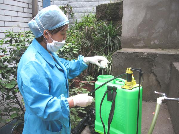 疫情期間病區拓展及環境消殺實錄